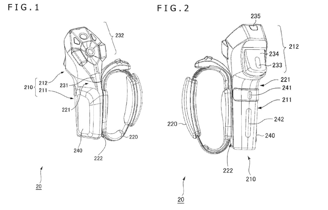 new psvr controllers patent move 2