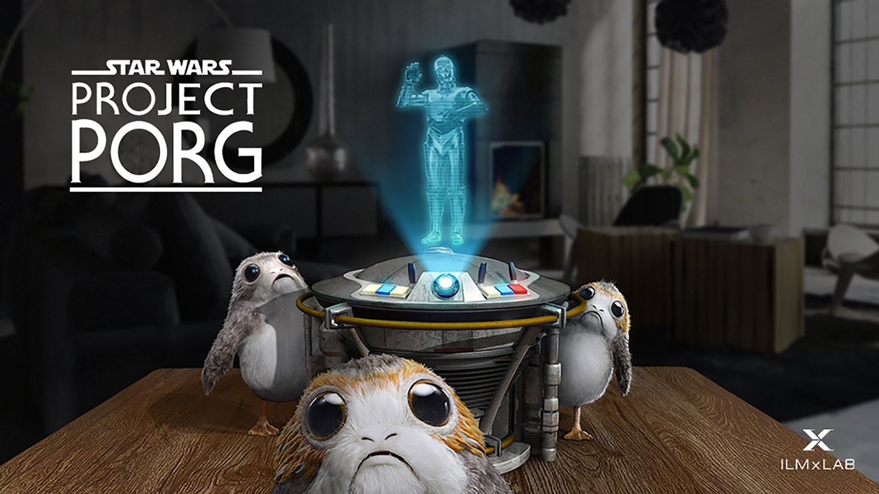 Star Wars Project Porg Magic Leap One AR