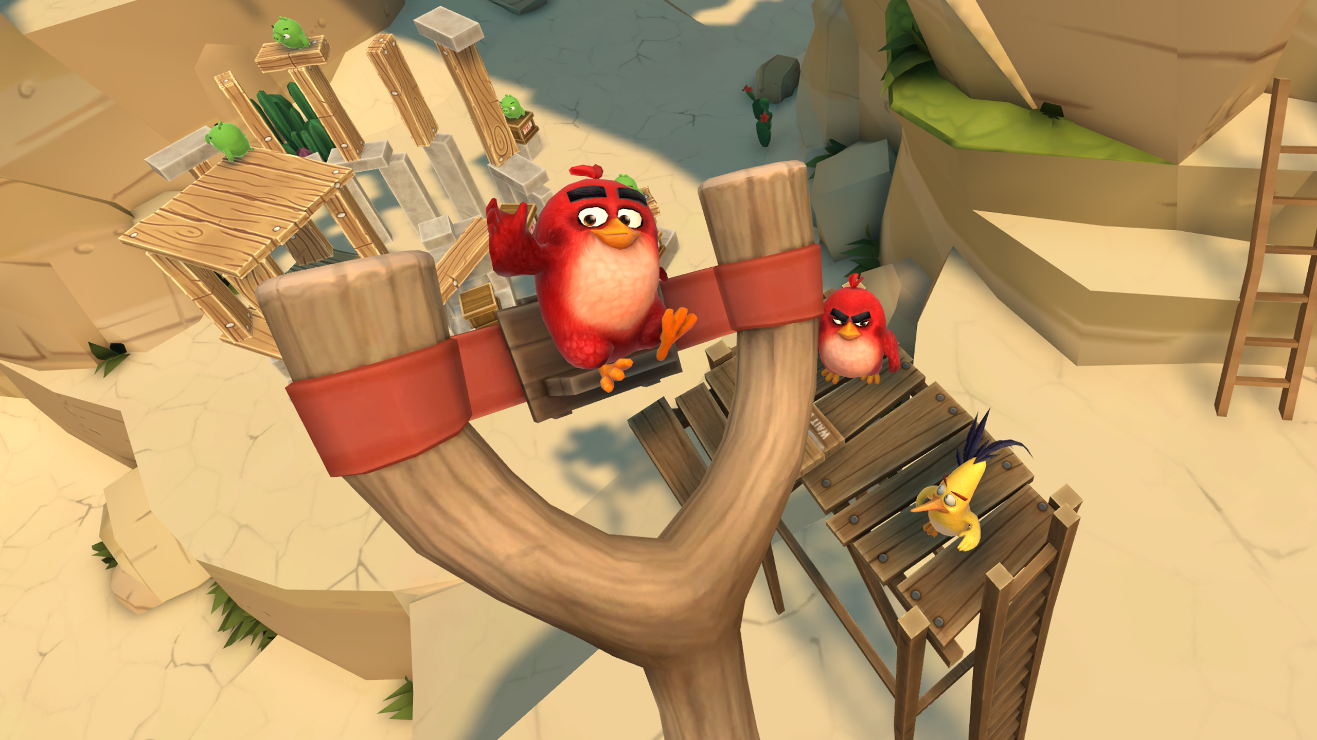 Hands Angry Birds VR Is Exactly What You Expect And