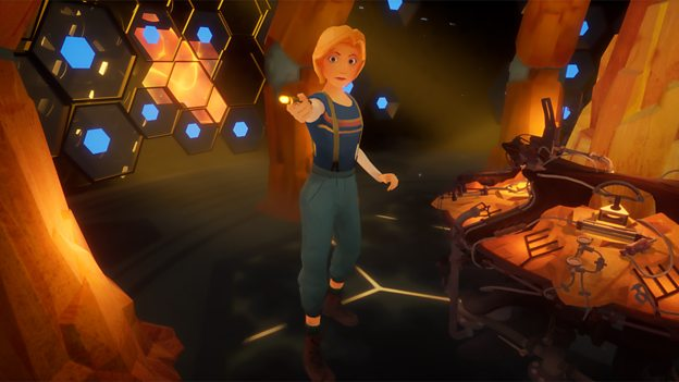 Doctor Who: The Runaway is an animated VR adventure coming to VR headsets.