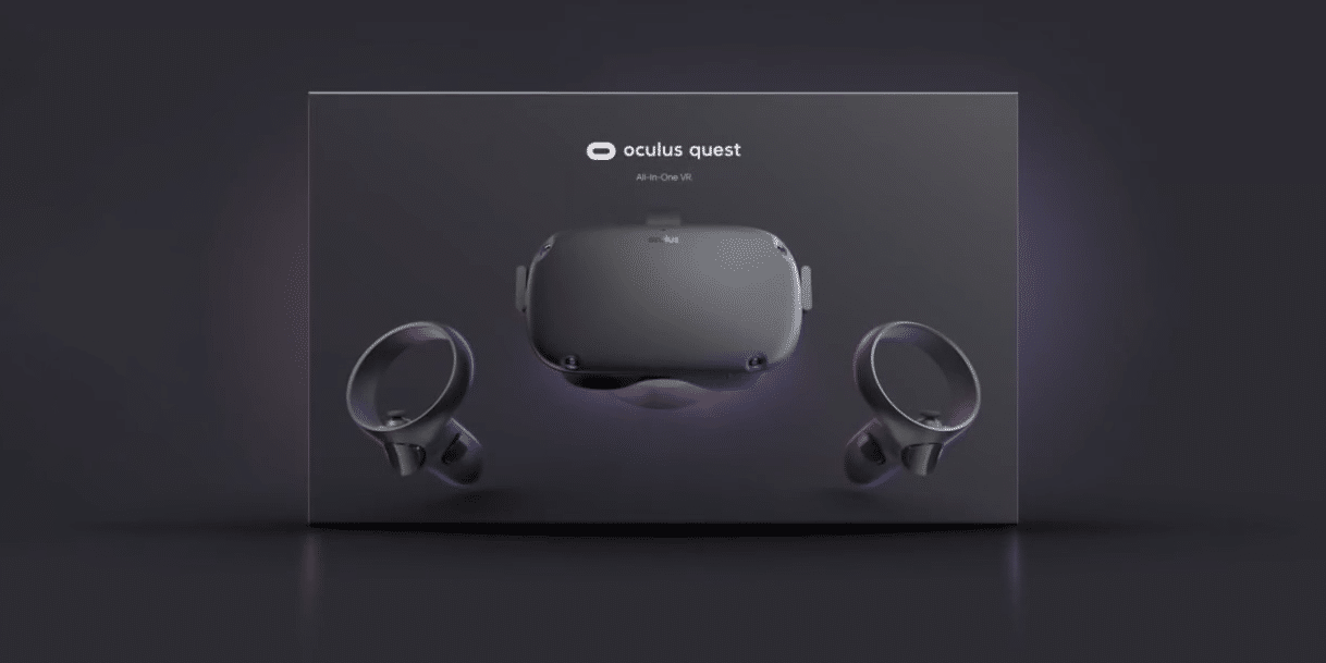 Oculus Quest retail box