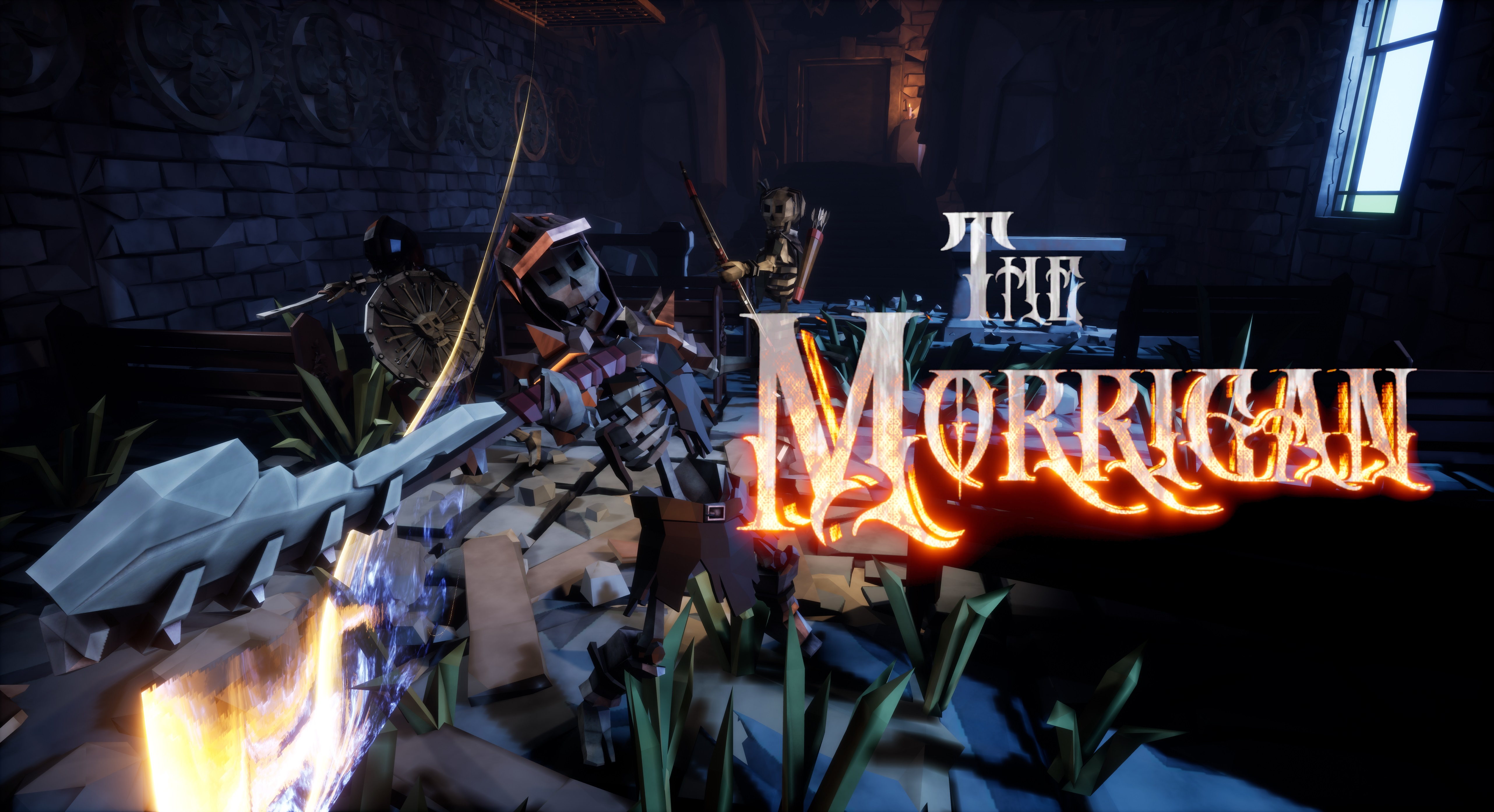 The Morrigan VR Dungeon Crawler