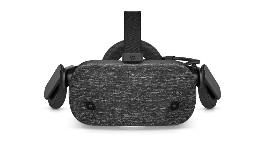 hp reverb vr headset front facing
