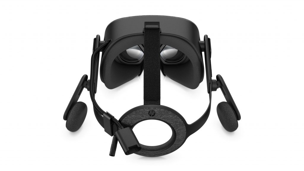 hp reverb vr top view