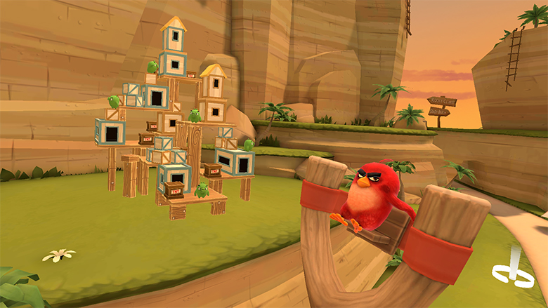 angry birds vr on quest