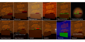 microsoft visually impaired VR research