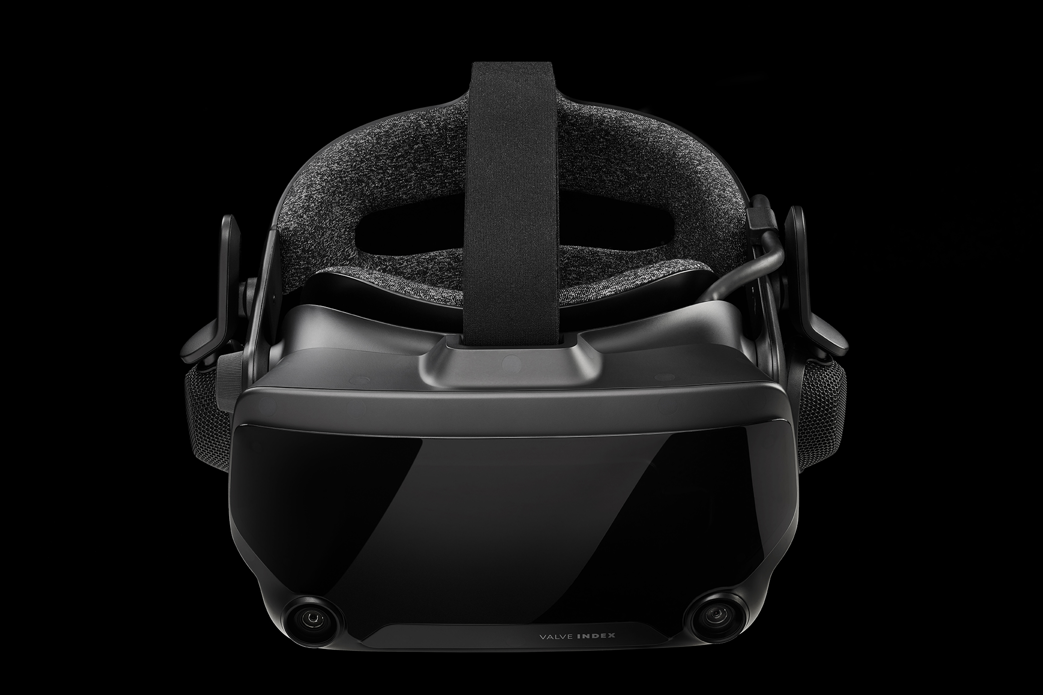 Valve Index HMD Front Above Reflection