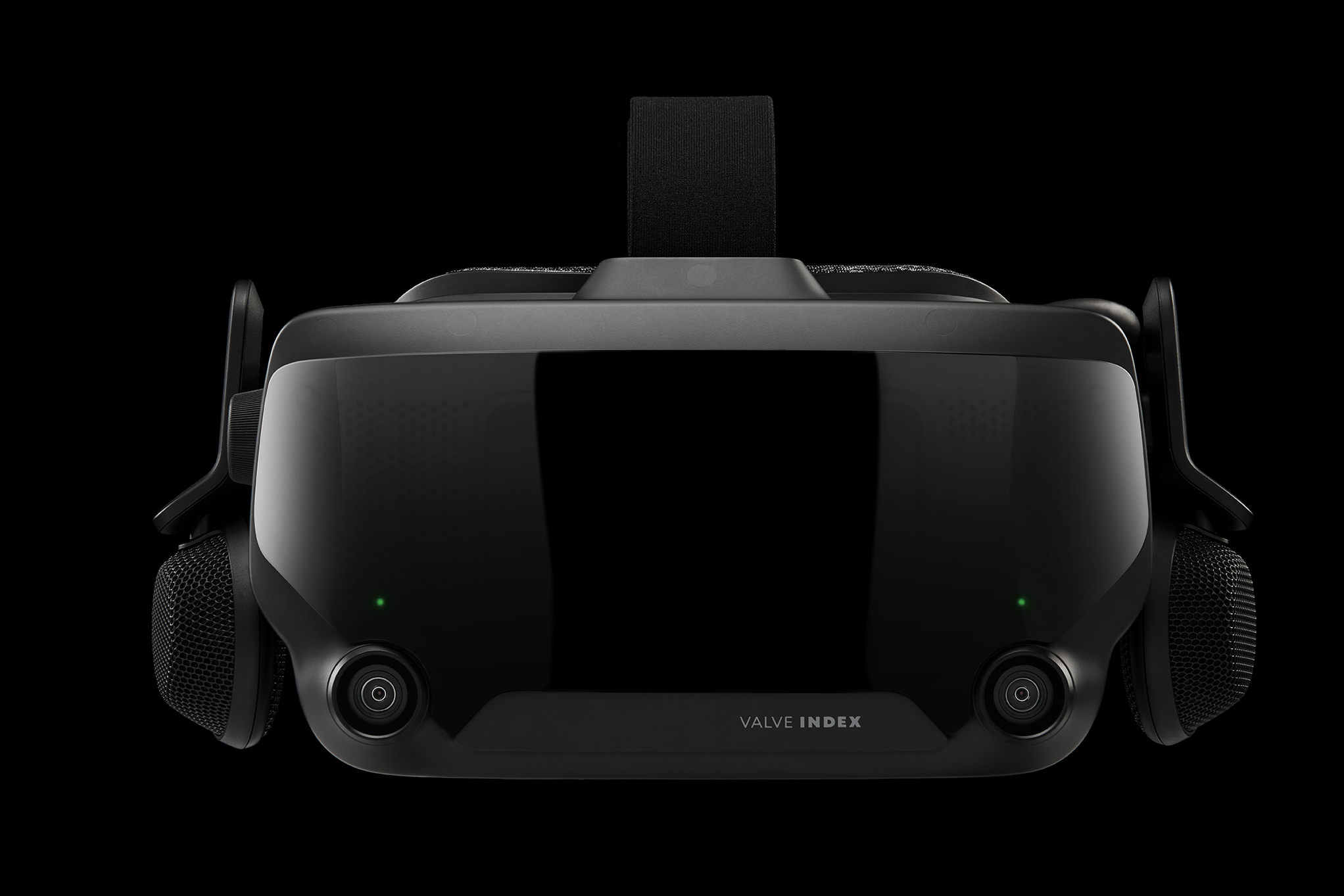 Valve Index HMD Front Cameras Lights On