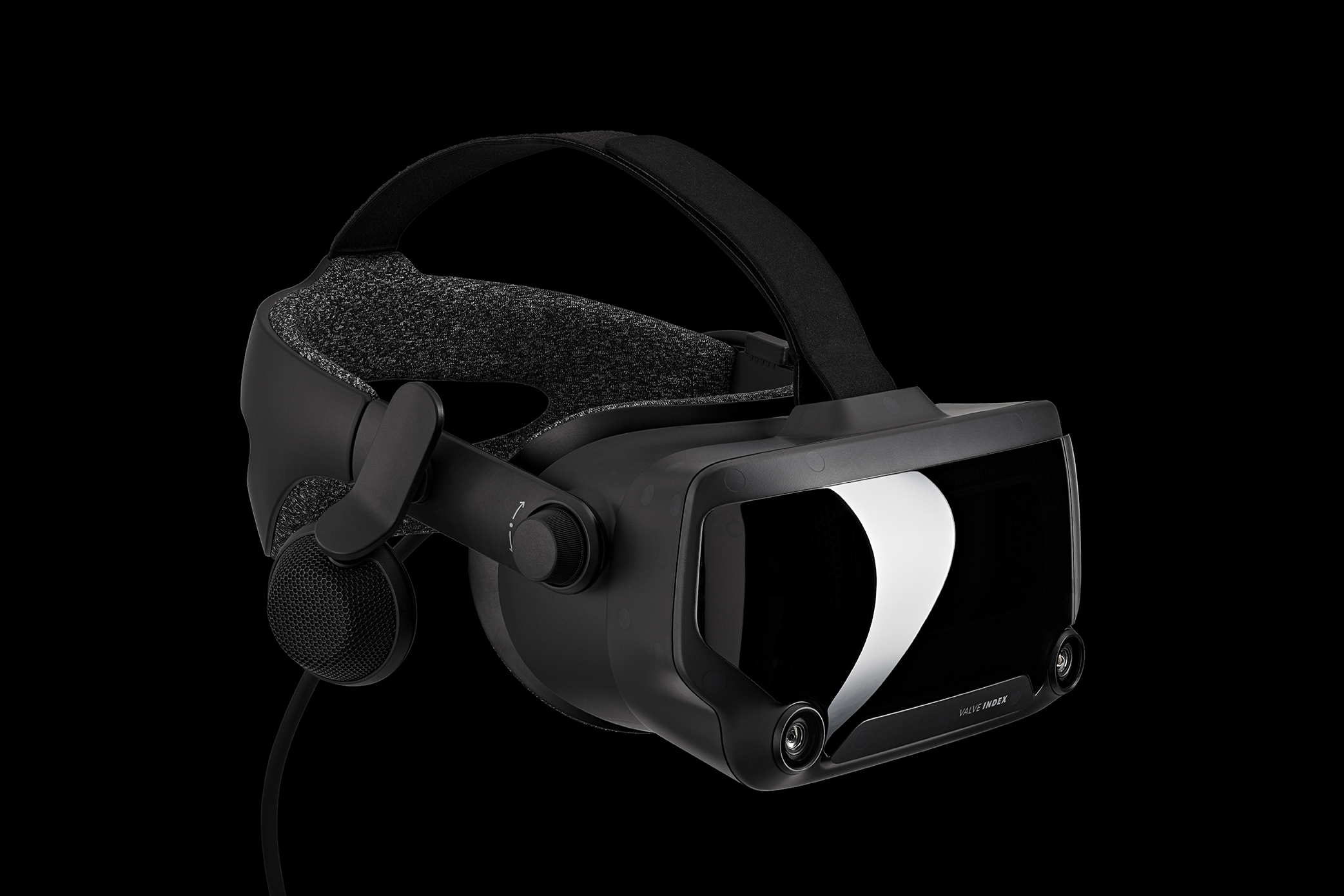 Valve Index HMD Headset Angle Speakers Side