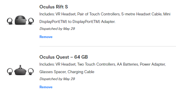 oculus quest and rift s preorder backlog