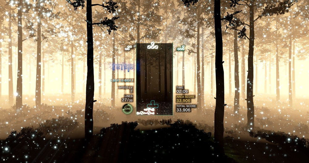 tetris effect pc woods forest