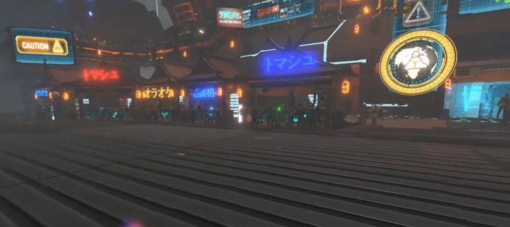 zenith vr mmo city screenshot