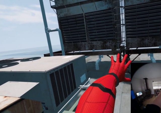 spider-man far from home vr index gameplay
