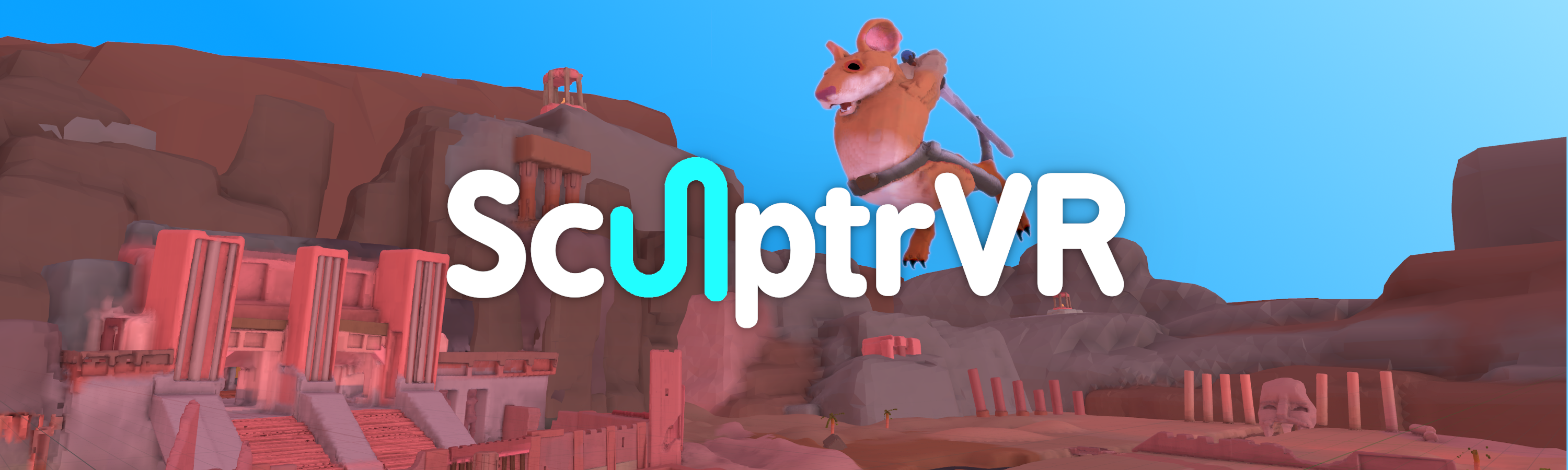 SculptrVR mouse hero