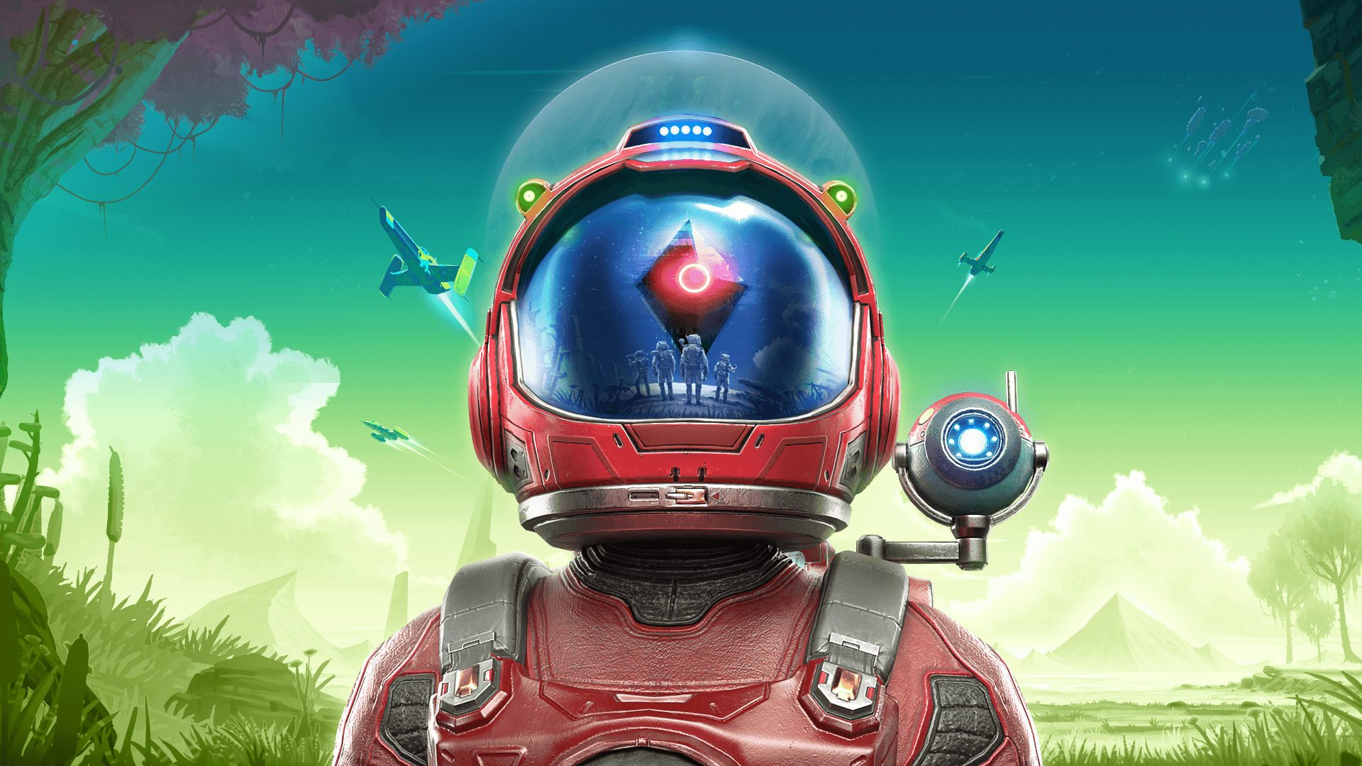 no man's sky helmet key art