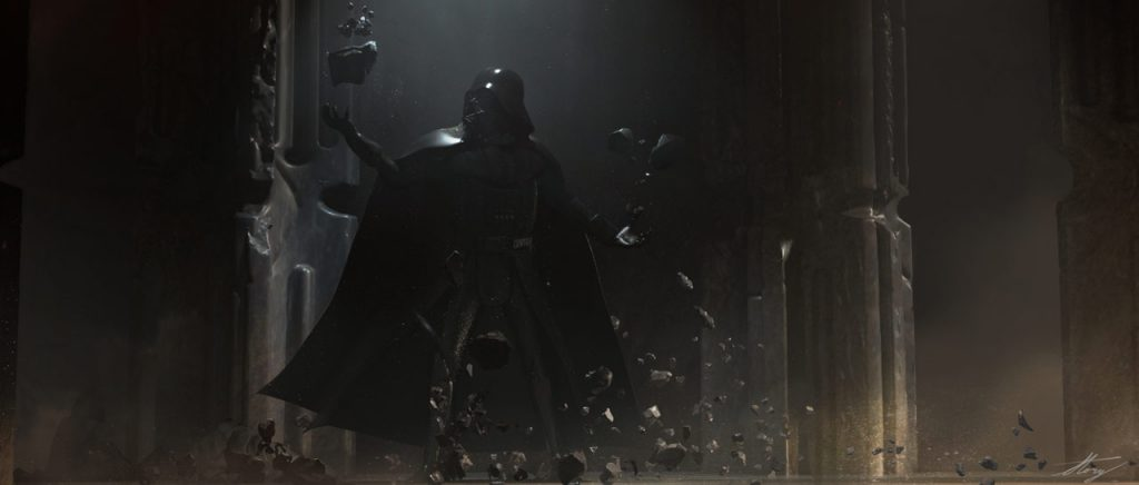 vader immortal concept art force training