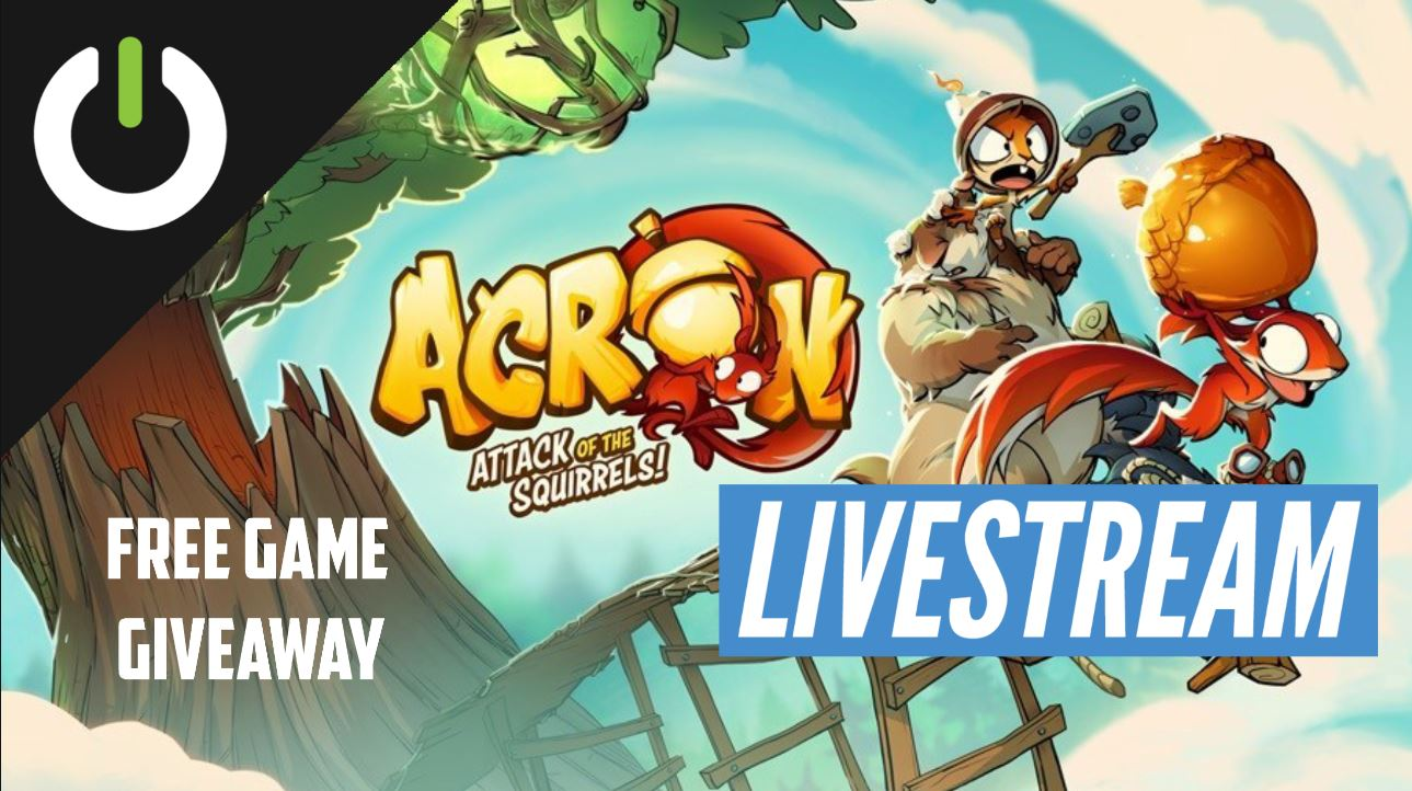 acron giveaway livestream