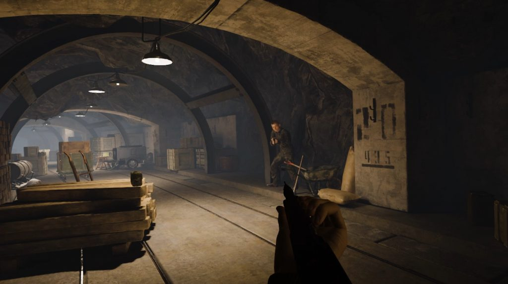 medal of honor vr bunker screenshot