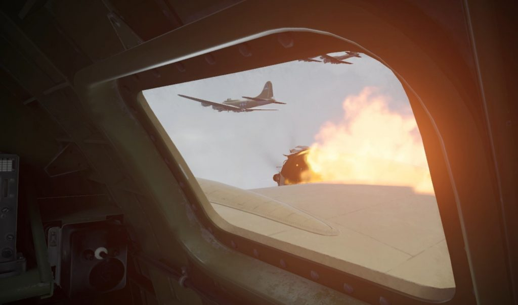 medal of honor vr plane on fire respawn