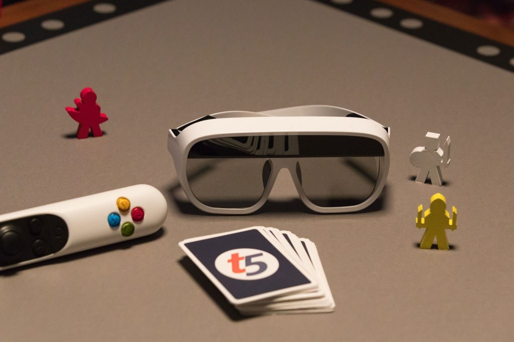 tilt five product image glasses and controller