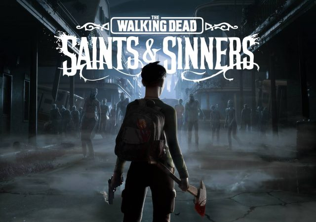 the walking dead vr saints and sinners key art title image
