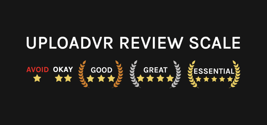 Upload VR Review Scale