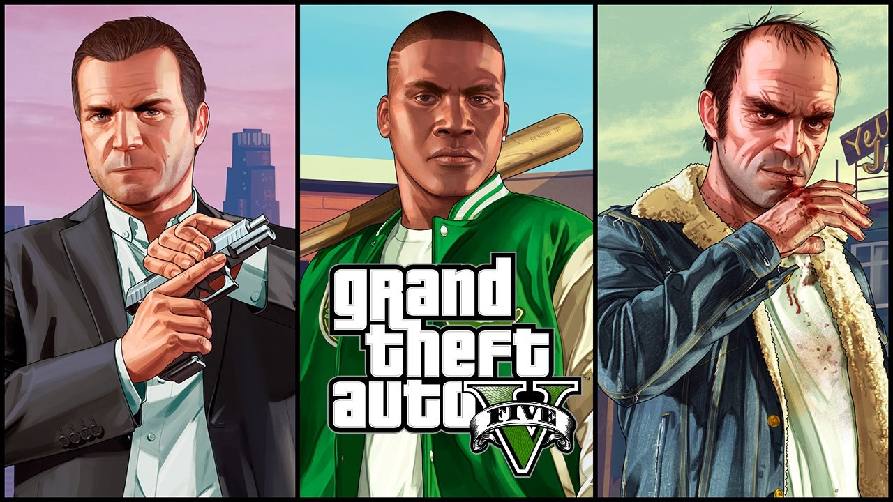 gta 5 character cover art image