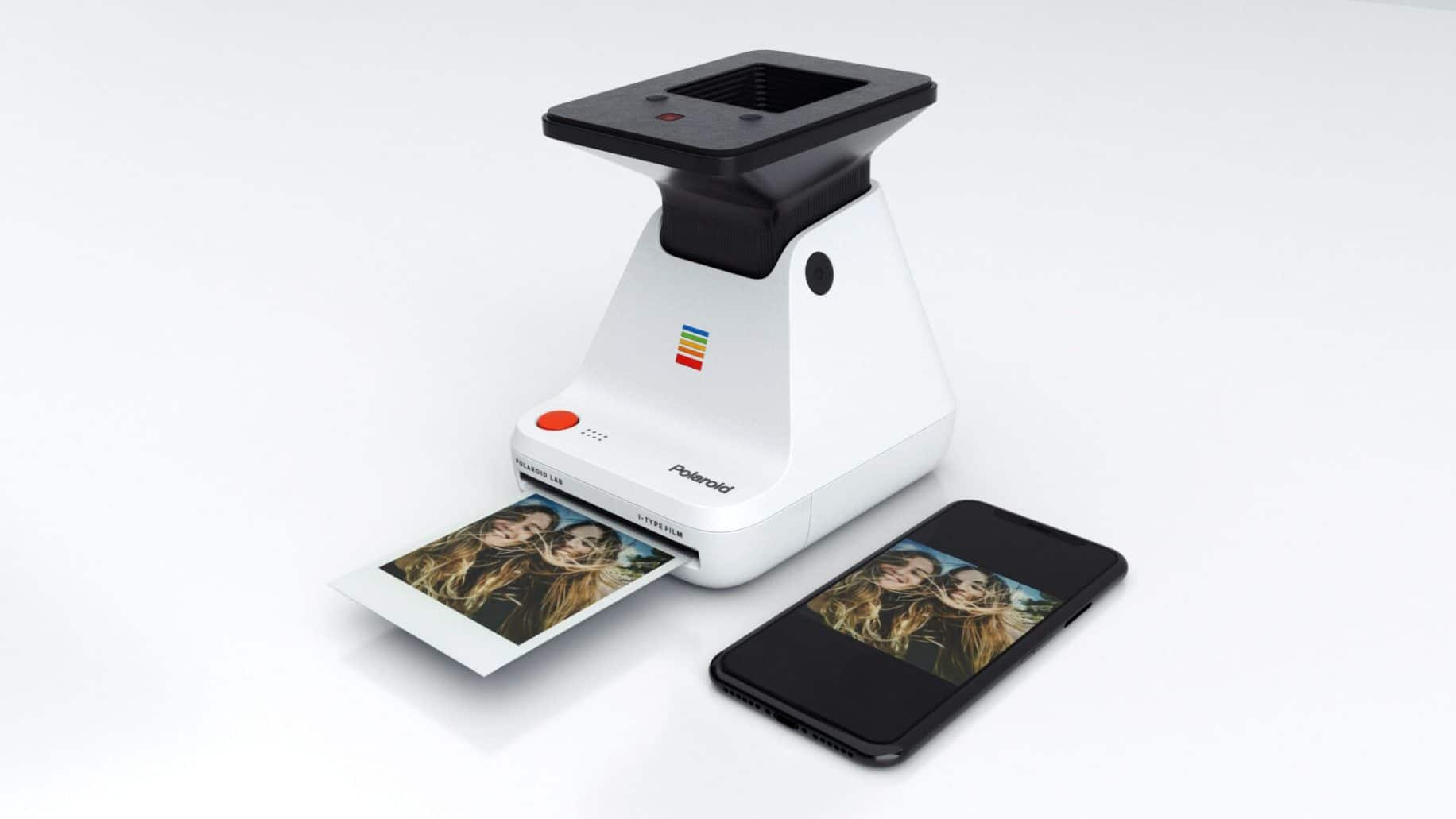 polaroid lab phone ar
