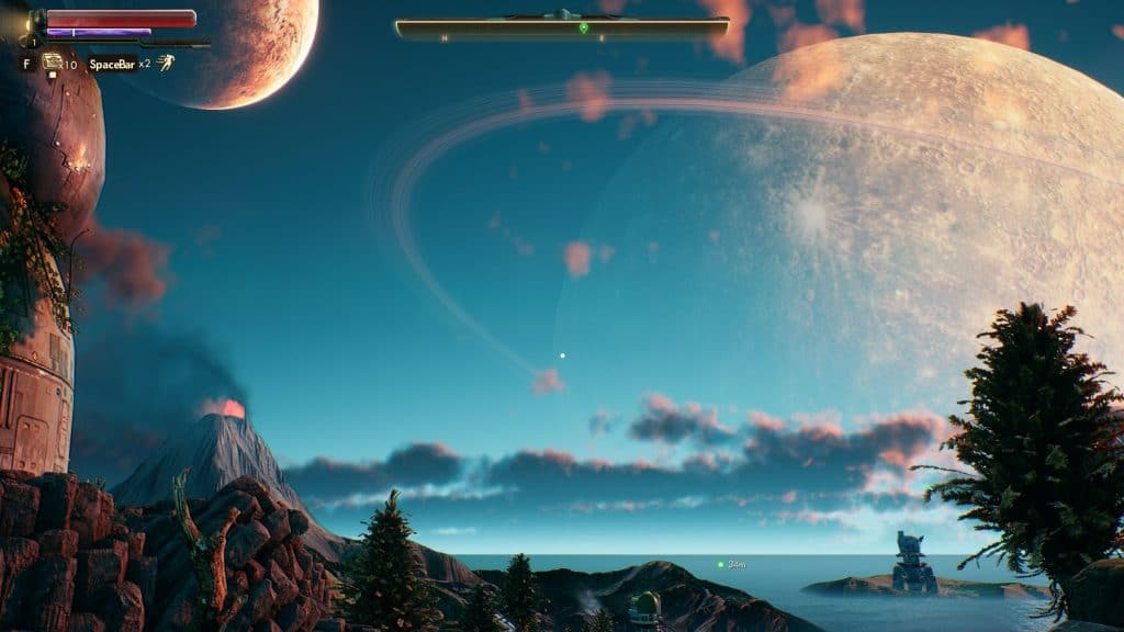 the outer worlds landing image shot