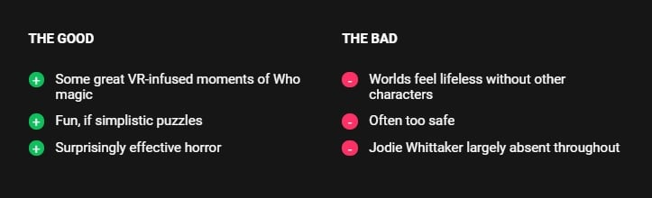 Doctor Who Edge Of Time Review