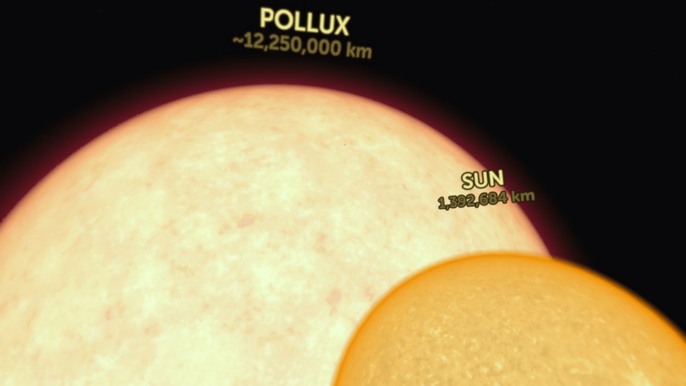 Titans of Space Pollux Sun