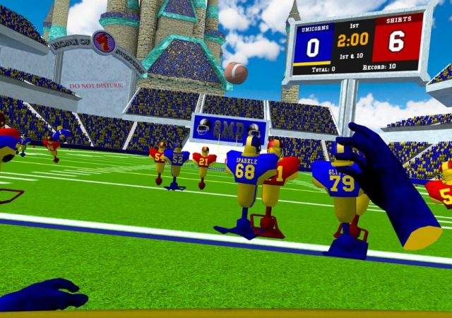 2md vr football quest screenshot gameplay 1