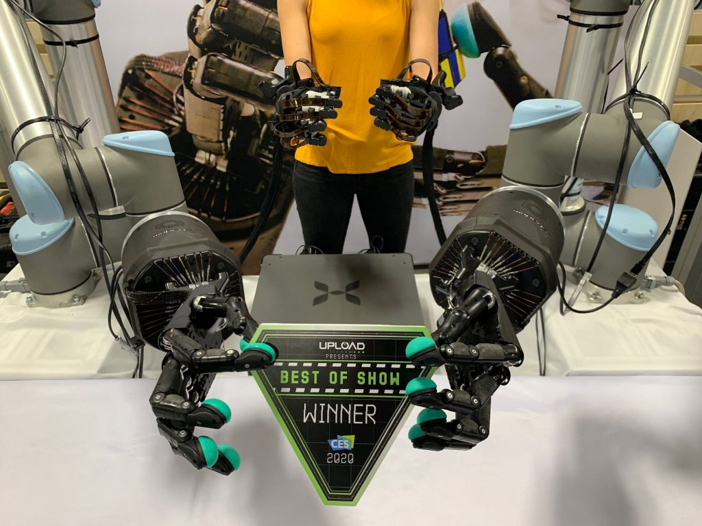 haptx ces 2020 best of show winner