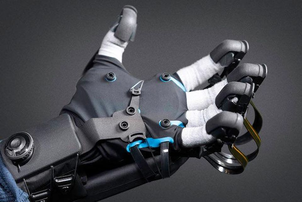haptx vr gloves image