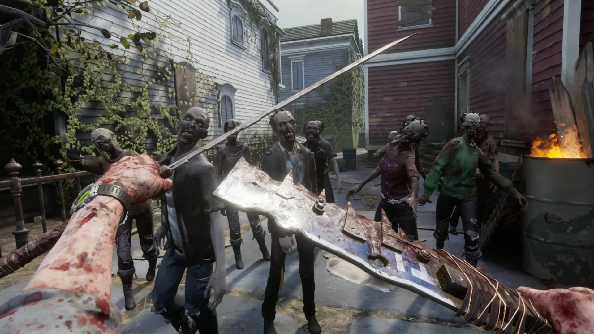 walking dead saints sinners melee street