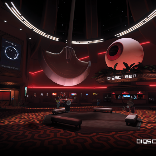 bigscreen cinema horror lobby
