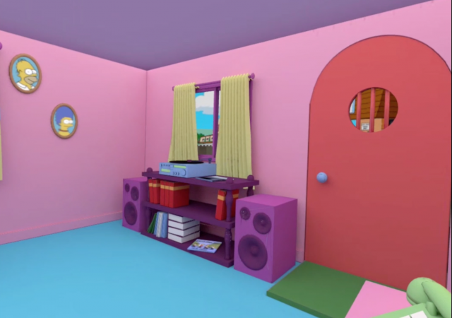 simpsons oculus quest home environment