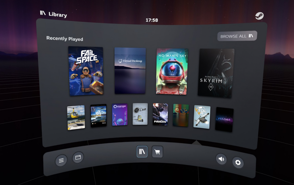 SteamVR Beta Introduces All-New Dashboard, Provides Oculus Quest Icon 16