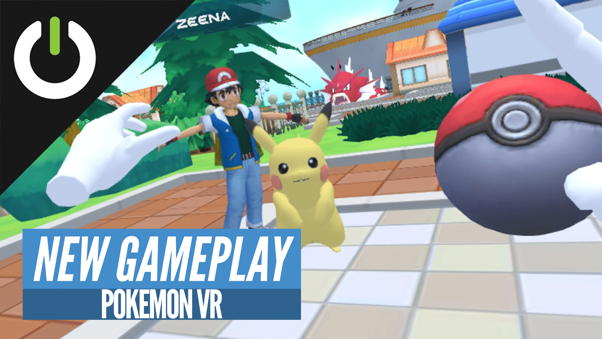 pokemon vr video