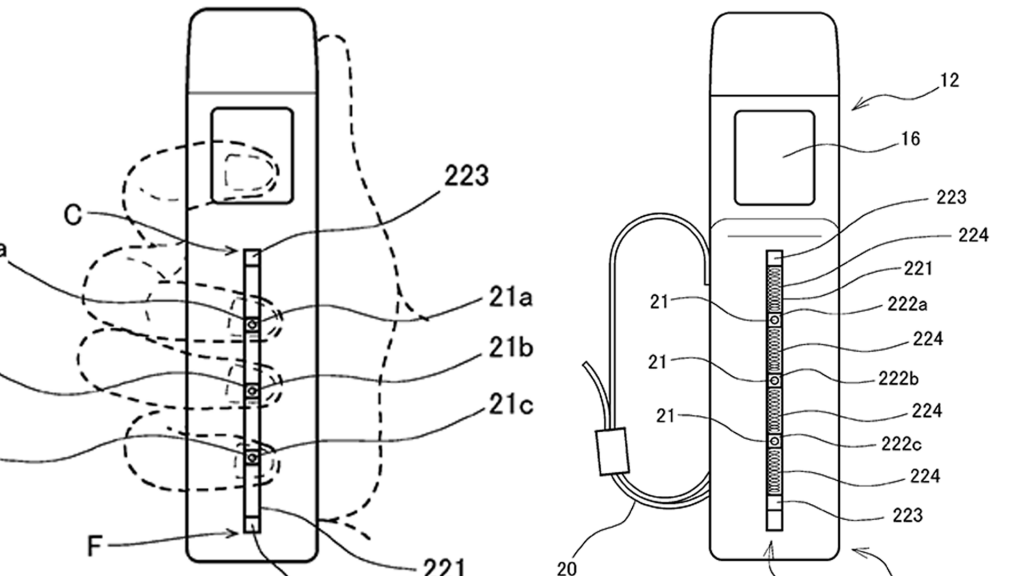 Sony Patents Valve Index-Like VR Controller With Finger Monitoring 9