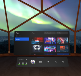 oculus quest new ui Redesigned Universal Menu