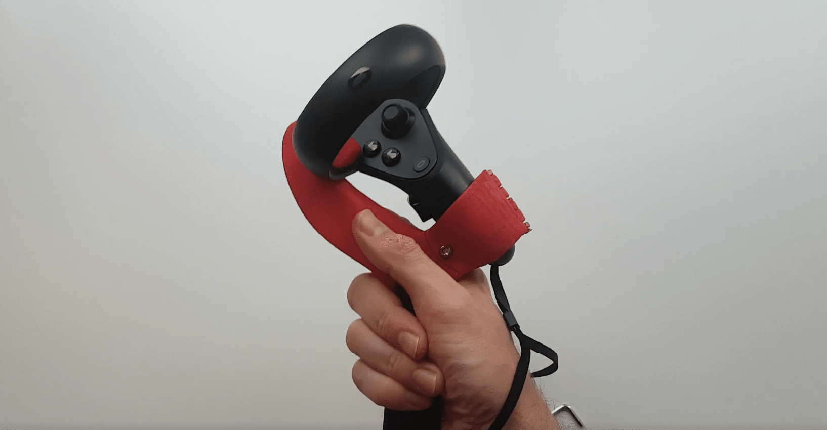 3d printed table tennis grip oculus touch