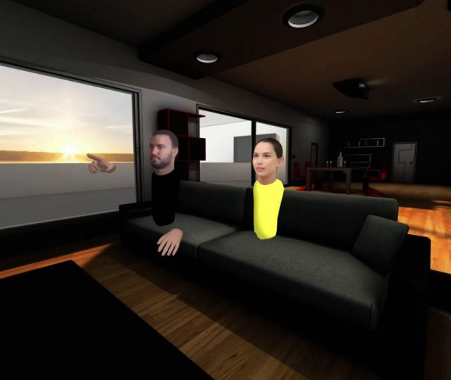 couch live virtual living room