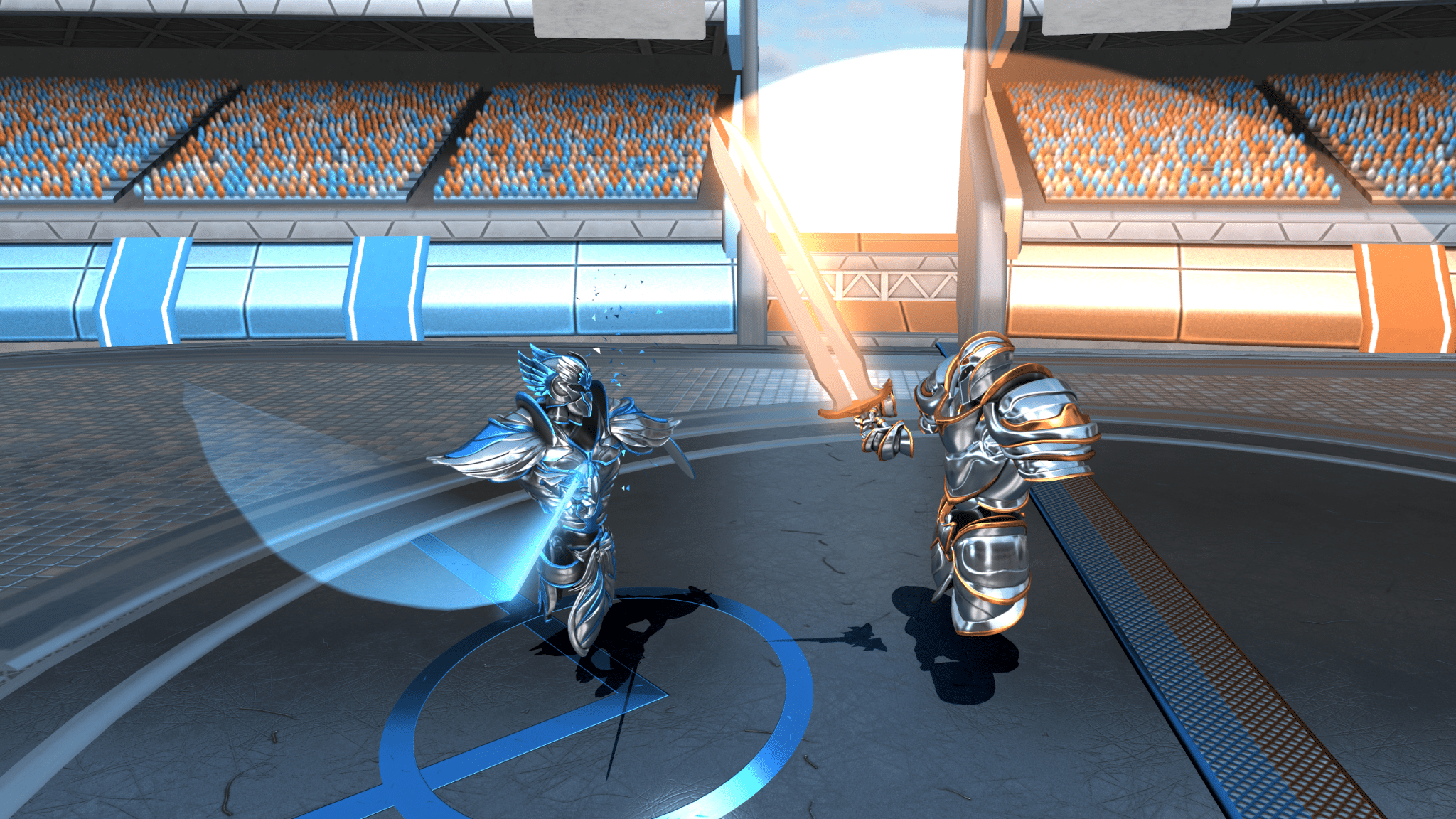 Ironlights VR melee review