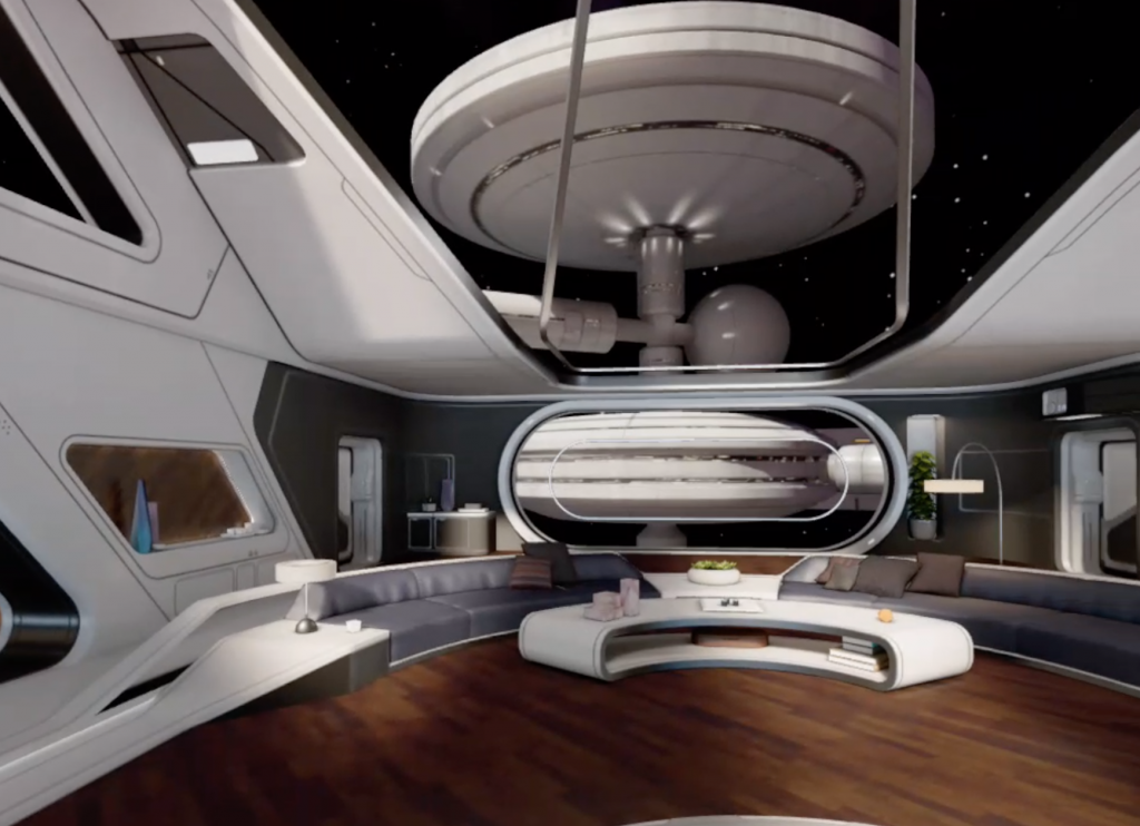 Oculus Quest Home Space Station