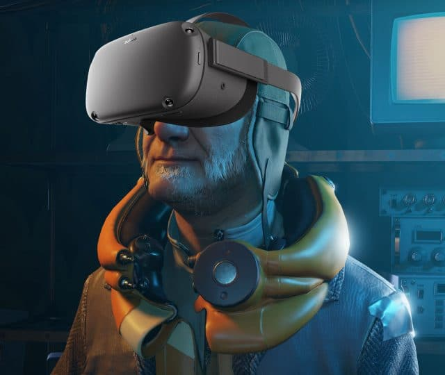 Half-Life: Alyx Oculus Quest Russell