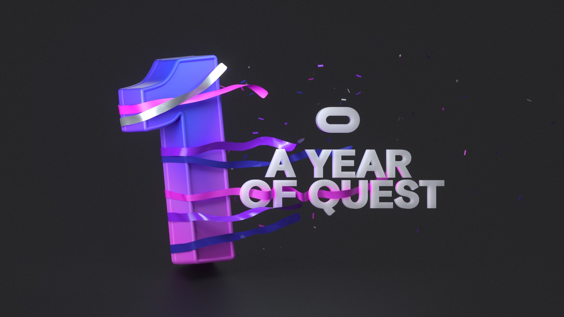 Oculus Qust one year anniversary