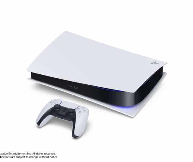 PlayStation 5 PS5 Laid Down Side