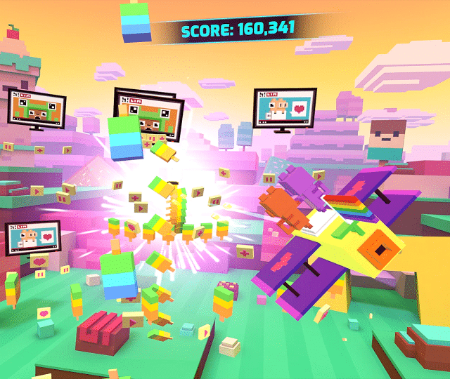 Shooty Skies Overdrive VR game