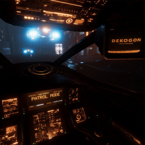 low-fi cockpit image itch
